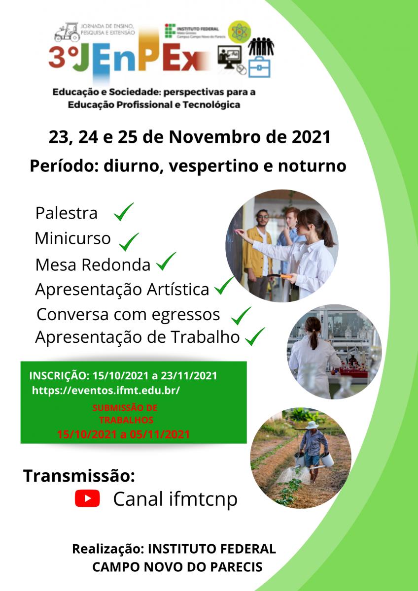 3° JENPEX - Campus Campo Novo do Parecis
