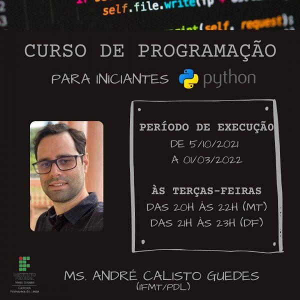 Curso de Programação para iniciantes com Python