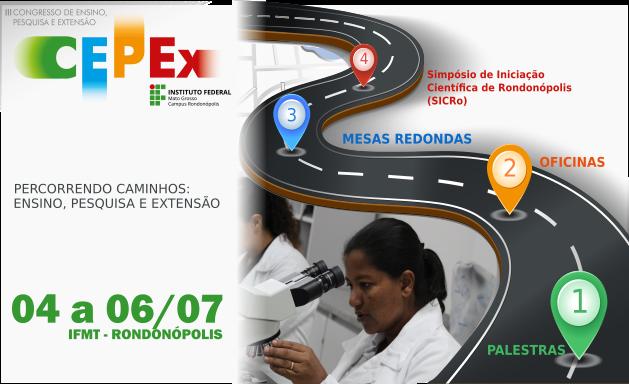 IFMT abre inscrições para o III Congresso de Ensino, Pesquisa e Extensão (CEPEx)