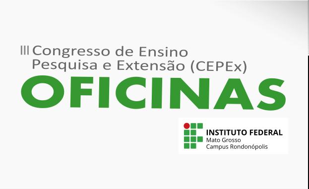 III CEPEx abre inscrições para submissão de propostas de oficinas