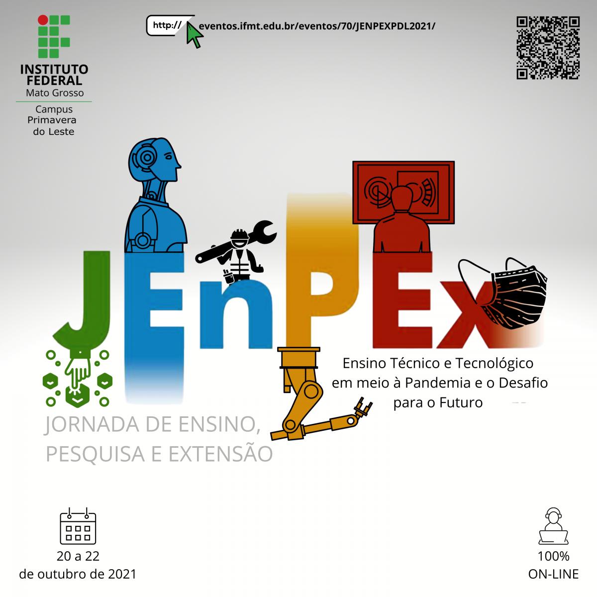 Jornada de Ensino Pesquisa e Extensão - Primavera do Leste 2021