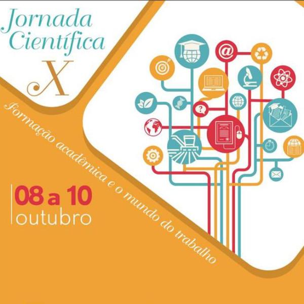X Jornada Científica: formação acadêmica e os desafios do mundo do trabalho